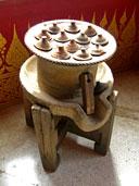 โบราณวัตถุต่าง ๆ ภายในพิพิธภัณฑ์ วัดพระธาตุเรืองรอง อ.เมือง จ.ศรีสะเกษ